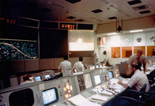 Mission control center - Houston