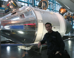 Matteo Negri al Kennedy Space Center